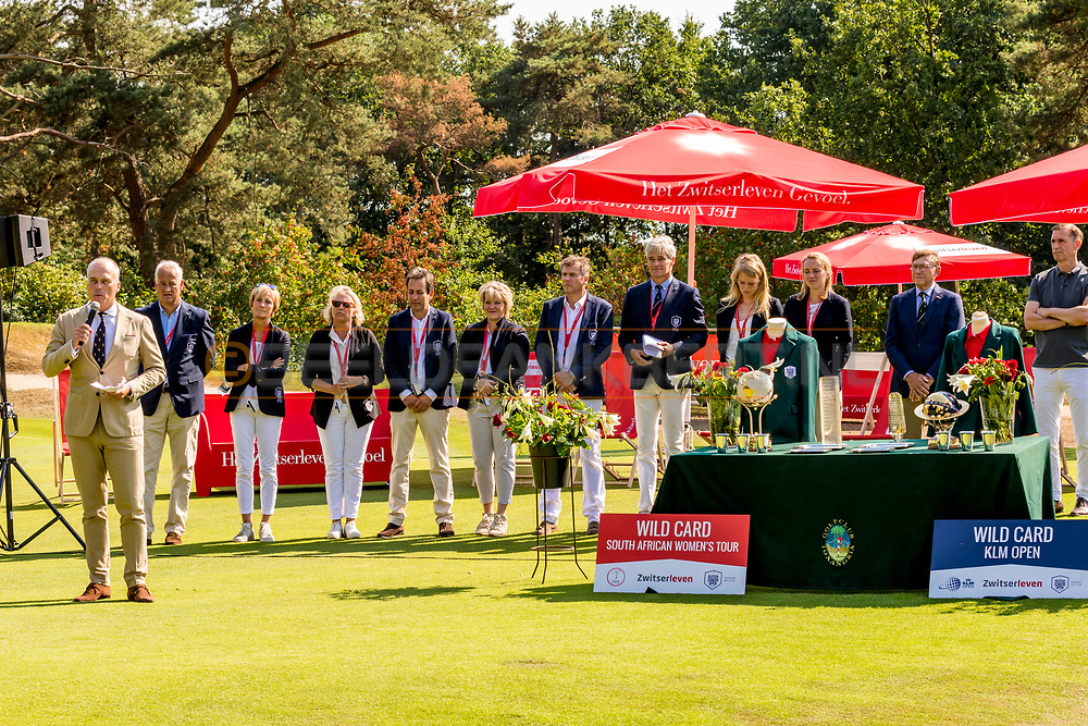 21-07-2018 Pictures of the final day of the Zwitserleven Dutch Junior Open at the Toxandria Golf Club in The Netherlands.21-07-2018 Pictures of the final day of the Zwitserleven Dutch Junior Open at the Toxandria Golf Club in The Netherlands.  Huib van den Berg, president of Toxandria Golf Club
