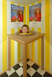 MECHELEN, BELGIUM - APRIL-14-2006 - Children's hands-on science and technology exhibit at Technopolis. (Photo © Jock Fistick)
