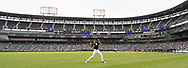 CHICAGO - JUNE 14:  Lucas Giolito #27 of the Chicago White Sox loosens up prior to the game against the New York Yankees on June 14, 2019 at Guaranteed Rate Field in Chicago, Illinois.  (Photo by Ron Vesely)  Subject:  Lucas Giolito