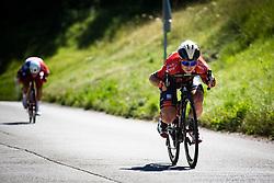 Jan Tratnik during Slovenian Road Cyling Championship 2019 on June 30, 2019 in Radovljica, Slovenia. Photo by Peter Podobnik / Sportida.