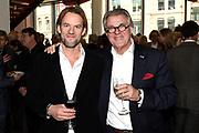 Jubileumviering van 15 jaar VandenEnde Foundation en 5 jaar DeLaMar.<br /> <br /> Op de foto:  Jasper en Jeroen Krabbe