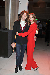 ANOUSKA BECKWITH and MAXIME SOKOLINSKI at the Vogue Festival Party 2013 in association with Vertu held at the Queen Elizabeth Hall, Southbank Centre, London SE1 on 27th April 2013.