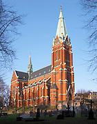 Johannes Kyrka church on Norrmalm. Norrmalm. Stockholm. Sweden, Europe.