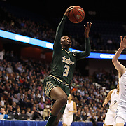 Tamara Taylor, USF, in action during the UConn Huskies Vs USF Bulls Basketball Final game at the American Athletic Conference Women's College Basketball Championships 2015 at Mohegan Sun Arena, Uncasville, Connecticut, USA. 9th March 2015. Photo Tim Clayton