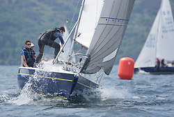 Sailing - SCOTLAND  - 27th May 2018<br /> <br /> 3rd days racing the Scottish Series 2018, organised by the  Clyde Cruising Club, with racing on Loch Fyne from 25th-28th May 2018<br /> <br /> GBR8314N, Saraband , Mark Taylor , Prestwick SC<br /> <br /> Credit : Marc Turner<br /> <br /> Event is supported by Helly Hansen, Luddon, Silvers Marine, Tunnocks, Hempel and Argyll & Bute Council along with Bowmore, The Botanist and The Botanist