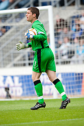 Falkirk's Michael McGovern..Falkirk 2 v 1 Partick Thistle, 13th August 2011..© pic : Michael Schofield.