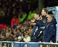 Fotball. Premier League. 07.12.2002.<br /> Fulham v Leeds.<br /> Terry Venables, manager Leeds.<br /> Foto: Javier Garcia, Digitalsport