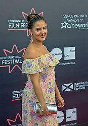 Premiere of Eaten by Lions directed by Jason Wingard at the Edinburgh International Film Festival<br /> <br /> Pictured: Natalie Davies