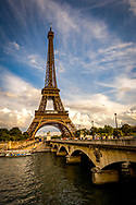Tower Eiffel, Pont D'Iena Bridge
