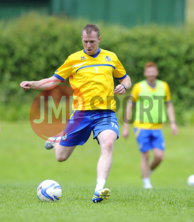 Bristol Rovers' David Clarkson - Photo mandatory by-line: Joe Meredith/JMP - Tel: Mobile: 07966 386802 24/06/2013 - SPORT - FOOTBALL - Bristol -  Bristol Rovers - Pre Season Training - Npower League Two