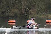 Caversham. Berkshire. UK<br /> Frazer RUSSELL.<br /> 2016 GBRowing U23 Trials at the GBRowing Training base near Reading, Berkshire.<br /> <br /> Monday  11/04/2016 <br /> <br /> [Mandatory Credit; Peter SPURRIER/Intersport-images]