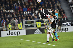 May 19, 2019 - Turin, Turin, Italy - Cristiano Ronaldo, \23\ of Juventus FC and Timothy Castagne,  of Atalanta BC during the Serie A match at Allianz Stadium, Turin (Credit Image: © Antonio Polia/Pacific Press via ZUMA Wire)