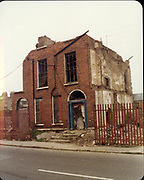 December 1983 Amature Photos of old Dublin. WITH Mountjoy St, Capel St, Summerhill, Langishe Place, Rutland St, School, Berkley Rd Old amateur photos of Dublin streets churches, cars, lanes, roads, shops schools, hospitals
