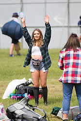 The opening of the T in the Park 2015 campsite for the very first year at its new home at Strathallan Castle.
