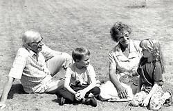 Grandparents with grandchildren, UK 1995