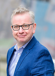 © Licensed to London News Pictures. 03/10/2017. Manchester, UK. Secretary of State for Environment, Food and Rural Affairs MICHAEL GOVE seen on day three of the Conservative Party Conference. The four day event is expected to focus heavily on Brexit, with the British prime minister hoping to dampen rumours of a leadership challenge. Photo credit: Ben Cawthra/LNP