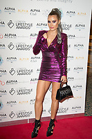 Carla Howe on the red carpet for the Lifestyle Awards 2021, at the Landmark Hotel Marylebone, London.