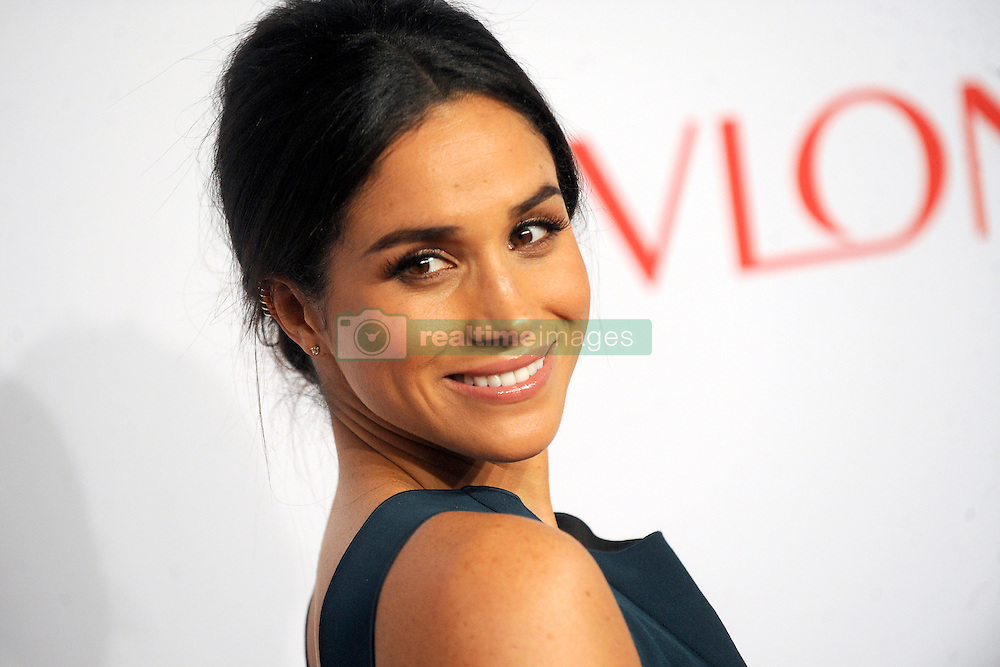 Oct. 28, 2014 - New York, New York, USA - Meghan Markle attends the Elton John AIDS Foundation's 13th Annual An Enduring Vision Benefit at Cipriani Wall Street on October 28, 2014 in New York City (Credit Image: © Future-Image/ZUMA Wire)