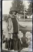 woman posing 1920s