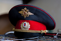 stock photo of a russia military hat