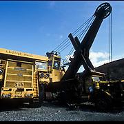 Three weeks aboard the Kong Harald. Hurtigruten, the Coastal Express. Old mining company in Kirkenes, big trucks.