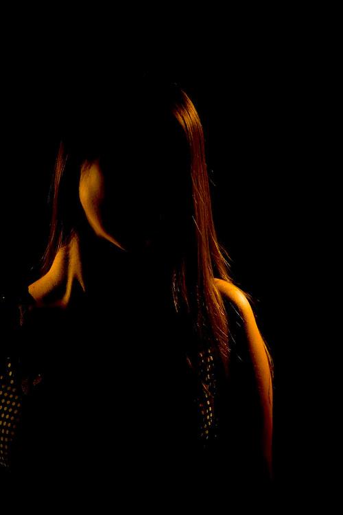 Belo Horizonte_MG, Brasil...Rosto de uma mulher...A woman face...Foto: LEO DRUMOND / NITRO