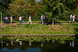 Various health centers, GP practices and physiotherapy practices have started a local walking challenge with the support of the BvdGF. The grand final took place in Tilburg but due to covid 19 the event cannot take place. On November 14, World Diabetes Day, everyone walks individually. The group from Tiel were looking forward to it and walk 5 and 10 km on September 22, 2020 in Tiel