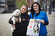 NO FEE PICTURES                                                                                                                                            9/5/19  Jodie Pezzilli, DSPCA and Lesley Barber, Village Vets at the launch of Ireland's favourite animal friendly event, Pets in the City, which will take place in Dublin's Smithfield Square on Sunday May 19th from 1130am to 430pm. Picture: Arthur Carron