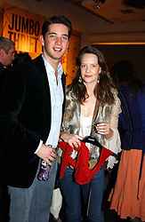 The HON.JAMES TOLLEMACHE and MISS ARABELLA MUSGRAVE at a Topshop hosted Jumbo Thrift Sale - a sale of designer fashion, in association with the Terence Higgins Trust for World Aids Day, held at Topshop, Oxford Circus, London on 1st December 2004.<br /><br />NON EXCLUSIVE - WORLD RIGHTS
