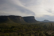 Pai Inacio viewpoint. Chapada Diamantina national park in Bahia, Brazil is a very large park conprising miles of trails, several settlements and spectacular scenery.