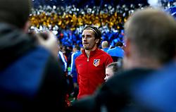 Antoine Griezmann of Atletico Madrid - Mandatory by-line: Robbie Stephenson/JMP - 18/04/2017 - FOOTBALL - King Power Stadium - Leicester, England - Leicester City v Atletico Madrid - UEFA Champions League Quarter-Final Second Leg