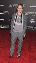 December 10, 2016 - Los Angeles, California, United States - December 10th 2016 - Los Angeles California USA - Actor BRECKIN MYER  at the World Premiere for ''Rogue One Star Wars'' held at the Pantages Theater, Hollywood, Los Angeles  CA (Credit Image: © Paul Fenton via ZUMA Wire)