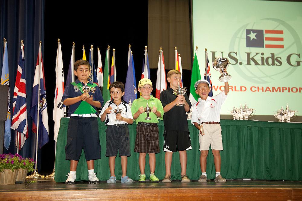 US Kids Golf Championship, third round. Pinehurst Resort, Pinehurst, North Carolina, Saturday, August 8 2009.