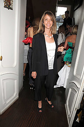 SABRINA GUINNESS at a party hosted by the Supper Club in honour of Mary Greenwell held at Beach Blanket Babylon, Ledbury Road, London on 25th June 2008.<br />