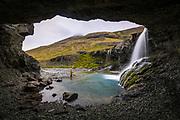 Skutafoss waterfall