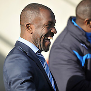 Chris Powell manager of Huddersfield Town  during the Sky Bet Championship match at the John Smiths Stadium, Huddersfield<br /> Picture by Graham Crowther/Focus Images Ltd +44 7763 140036<br /> 21/02/2015