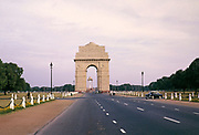 India Gate, New Delhi, India in 1964 memorial monument to Indian soldiers killed in the First World War.