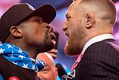 Boxing: Mayweather vs. McGregor LA Press Tour