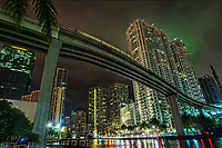 Miami Riverwalk & Metromover Bridge