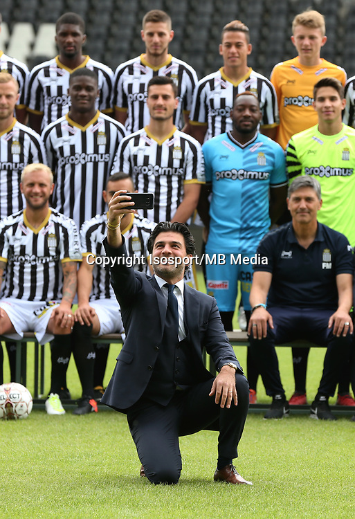 20170715 - Charleroi, Belgium / Photoshoot Sporting Charleroi 2017 - 2018 / <br /> Mehdi BAYAT<br /> Picture Vincent Van Doornick / Isosport