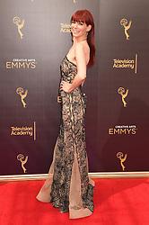Carrie Preston bei der Ankunft zur Verleihung der Creative Arts Emmy Awards in Los Angeles / 110916 <br /> <br /> *** Arrivals at the Creative Arts Emmy Awards in Los Angeles, September 11, 2016 ***
