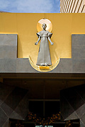 "Robert Graham's ""The Virgin Mary"" at the Cathedral of Our Lady of the Angels by architect Rafael Moneo, Downtown Los Angeles, California, USA"