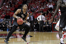 20 March 2017:  B.J. Taylor during a College NIT (National Invitational Tournament) 2nd round mens basketball game between the UCF (University of Central Florida) Knights and Illinois State Redbirds in  Redbird Arena, Normal IL