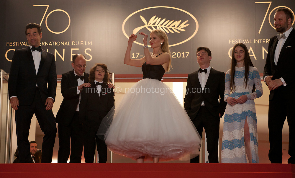 at The Killing of a Sacred Deer gala screening at the 70th Cannes Film Festival Monday 22nd May 2017, Cannes, France. Photo credit: Doreen Kennedy