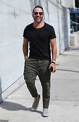 Jeremy Piven is seen out and about in Los Angeles, USA.