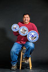 Adaka Cultural Festival 2016, Whitehorse, Yukon, Canada, Yukon First Nation Culture and Tourism Association, Kwanlin Dun Cultural Centre, Jonathan Wurtak, drum, visual artist