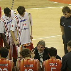 20051127: SLO, Basketball - KK Union Olimpija vs KK Geoplin Slovan