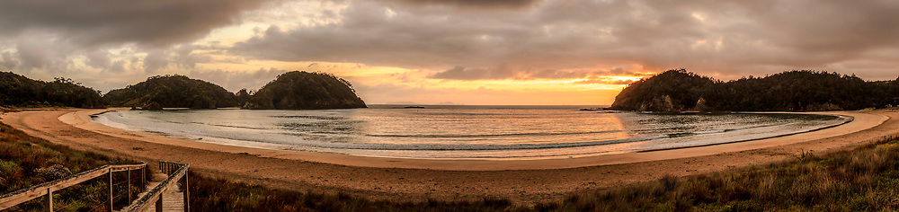 Matapouri - Dawn<br /> <br /> Limited edition fine art print.<br /> <br /> Print:  $145.00 +p&p*<br /> Framed: $375.00<br /> <br /> Image size L:800mm x H:220mm. <br /> <br /> Larger print size available up to L:1.5 metre (also available in canvas).<br /> <br /> To order direct, contact Alan through the contact tab above.<br /> <br /> Available to view and purchase from my studio gallery (appointment recommended) or at The Bach, town basin - Whangarei.<br /> <br /> *<br /> p&p free within the Whangarei district.