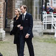 NLD/Delft/20131102 - Herdenkingsdienst voor de overleden prins Friso, prinses Maria Carolina en partner Albert Brenninkmeijer