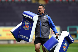 Bath Rugby Head Coach Tabai Matson looks on during the pre-match warm-up - Mandatory byline: Patrick Khachfe/JMP - 07966 386802 - 20/08/2017 - RUGBY UNION - Liberty Stadium - Swansea, Wales - Ospreys v Bath Rugby - Pre-season Friendly